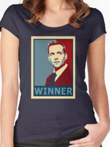 Winner Harvey Women's Fitted Scoop T-Shirt