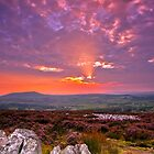 Stiperstones Ridge  Shropshire Hills by James  Key