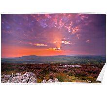 Stiperstones Ridge  Shropshire Hills Poster