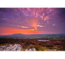 Stiperstones Ridge  Shropshire Hills Photographic Print