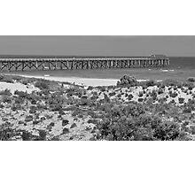 Grange Beach, Adelaide Photographic Print