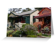 Central Tilba Shops Greeting Card