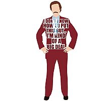 Ron Burgandy Photographic Print