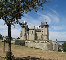 Château de Saumur by adelaideT