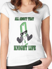 Knight Life-Green Women's Fitted Scoop T-Shirt