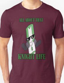 Knight Life-Green Unisex T-Shirt