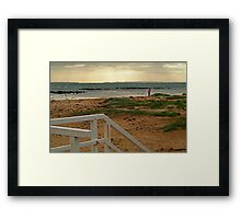 View from Barwon Heads to the Rip Framed Print