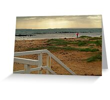 View from Barwon Heads to the Rip Greeting Card