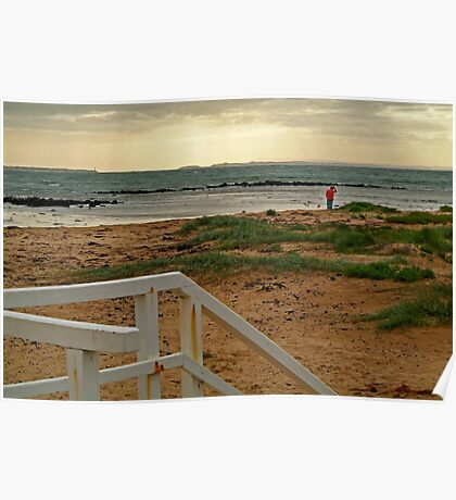 View from Barwon Heads to the Rip Poster