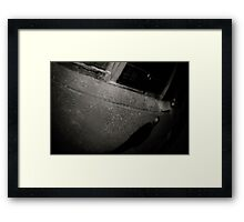 the Ghost in the Mirror Framed Print