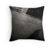 the Ghost in the Mirror Throw Pillow