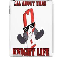 Knight Life-Red iPad Case/Skin
