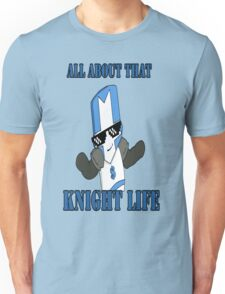 Knight Life-Blue Unisex T-Shirt