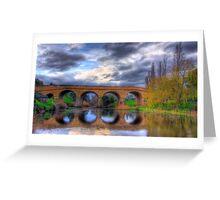 Richmond Bridge - Tasmania Greeting Card