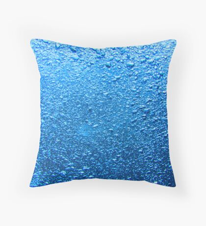 Bubbles while On Deco Throw Pillow