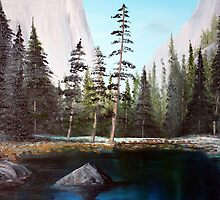 """YOSEMITE VALLEY 2 (2011)"" by Dennis Knecht"