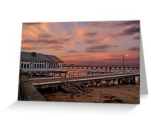 Sunset, Barwon Heads Greeting Card