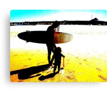 Surf Generations Canvas Print