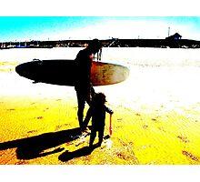Surf Generations Photographic Print