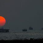 Maldives Sunset by Peter Doré
