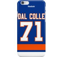 New York Islanders Michael Dal Colle Jersey Back Phone Case iPhone Case/Skin