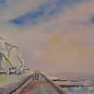 Stroll in St Margaret's bay by Beatrice Cloake