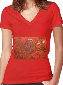 Precious Women's Fitted V-Neck T-Shirt