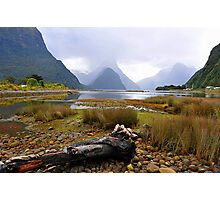 Milford Sound. South Island, New Zealand. Photographic Print