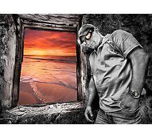 Seaside HDR Views Photographic Print