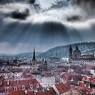 Let it shine - Prague City scape by Gavin Poh