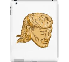Man Open Head Brain Etching iPad Case/Skin