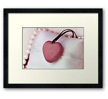 Precious heart Framed Print