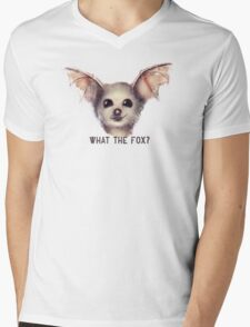 What the Fox? Mens V-Neck T-Shirt