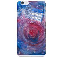 TARDIS in watercolour 01 iPhone Case/Skin