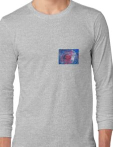TARDIS in watercolour 01 Long Sleeve T-Shirt