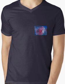TARDIS in watercolour 01 Mens V-Neck T-Shirt