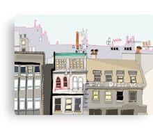 Princes Street Rooftops! Canvas Print
