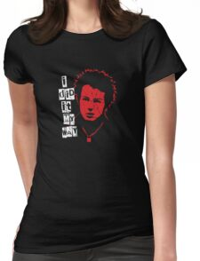 Sid Vicious Destroyed Womens Fitted T-Shirt