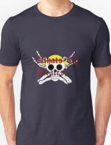 One Piece Straw Hat Whats Up Pirates Luffy T-Shirt