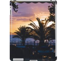 Sunset Settings iPad Case/Skin