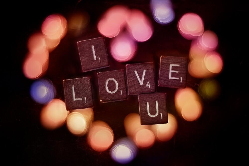 I Love U 2 by Johanne Brunet