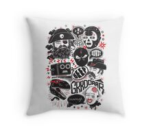 Team Fantastic Throw Pillow