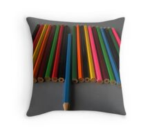 Odd One Out! Throw Pillow