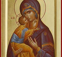 Vladimir Mother of God by ikonographics