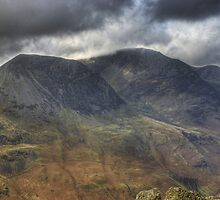 The High Stile Range From Fleetwith Pike by Jamie  Green