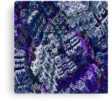 Center - Fractal Abstract Canvas Print