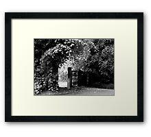 Countryside Walkway Framed Print