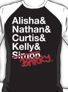 Alisha & Nathan & Curtis & Kelly & Simon from Misfits T-Shirt