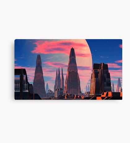 Lost Cities Series - Trinitass Nok Canvas Print