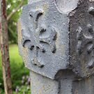 Old Iron Fence Post - North Carolina by glennc70000